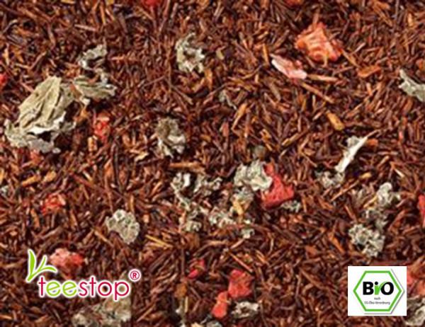 Rooibusch Erdbeer Milchshake bio