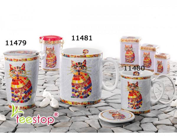 Jumbobecher TED aus Porzellan - Volumen 750 ml