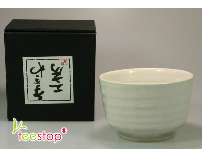 matcha schale shiro wei im geschenkkarton g nstig kaufen teestop. Black Bedroom Furniture Sets. Home Design Ideas