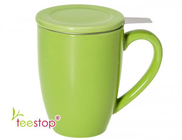 Teesiebbecher Bonnet grün 0,3 L