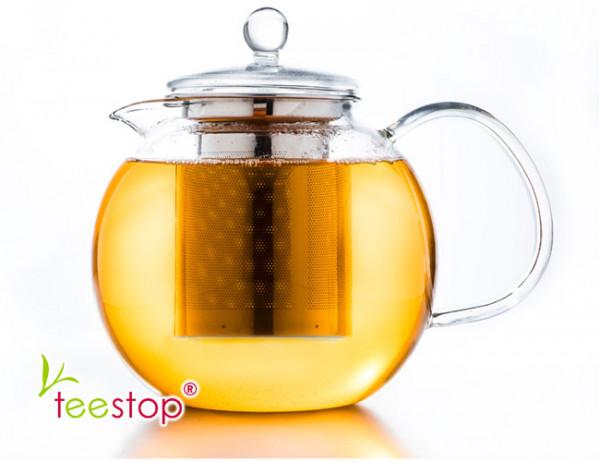Glas Teekanne mit Filter für 850ml creano