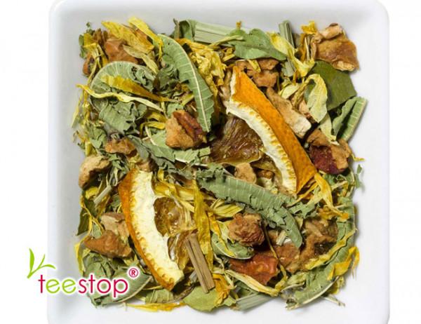 Kräutertee Quelle des Glücks - spritzig frisch - naturbelassen ohne Zusatz von Aroma