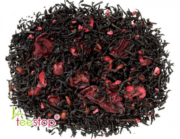 Schwarztee Granatapfel Cranberry mit Granatapfel - Cranberry Note
