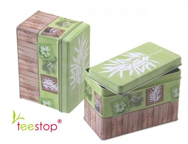 Teebox Zen eckig Teedose 100g