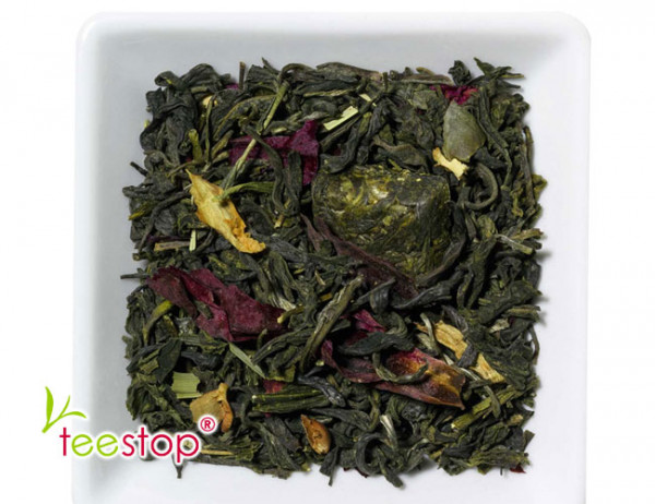 Weißer Tee Quelle der Weisheit mit Lichee Zitronen Note