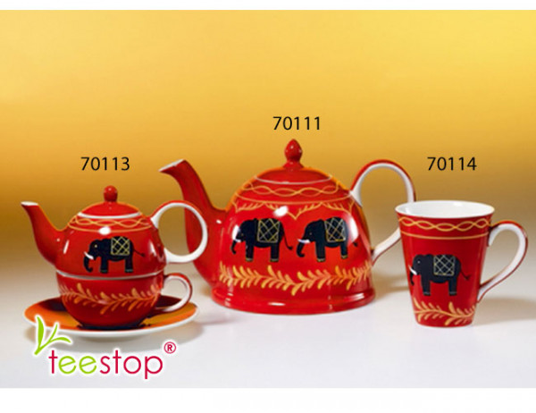 Tea for One Set Benares aus Keramik von Cha Cult