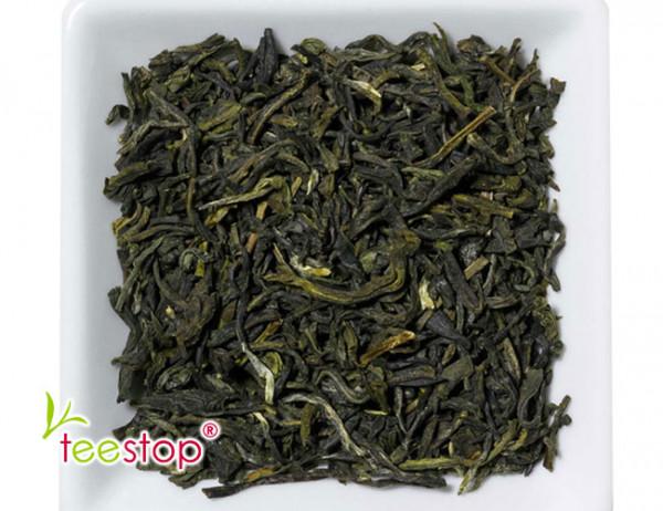 Grüntee china jasmin - natürlich aromatisiert durch Jasminblüten