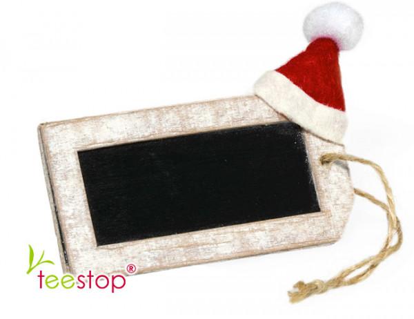 Geschenkanhänger Santa beschreibar
