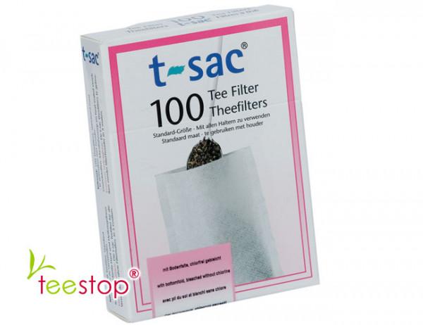Teefilter t-sac 100 mit Bodenfalte