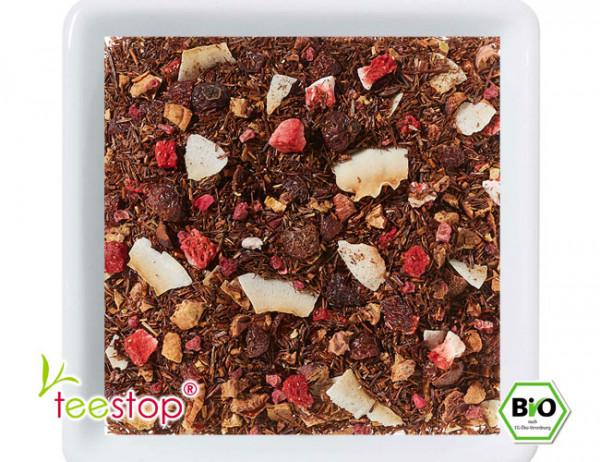 Rooibusch Tee Erdbeere Himbeere Bio