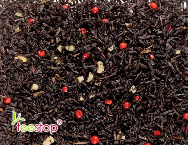 Schwarztee Süßes Marzipan