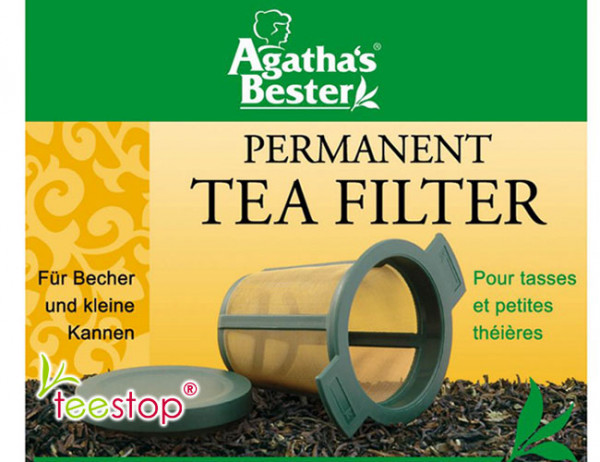 Teefilter mit mikrofeinem Edelstahlgewebe