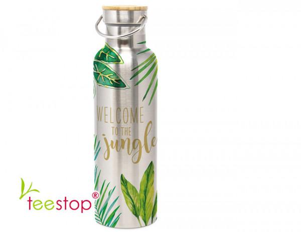 Edelstahl Trinkflasche the Jungle 750 ml