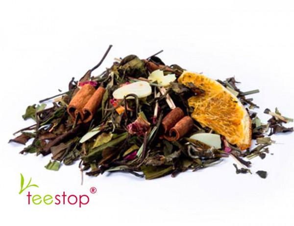 Wintertee Weißer Tee Toronto Nights Orange Mandel