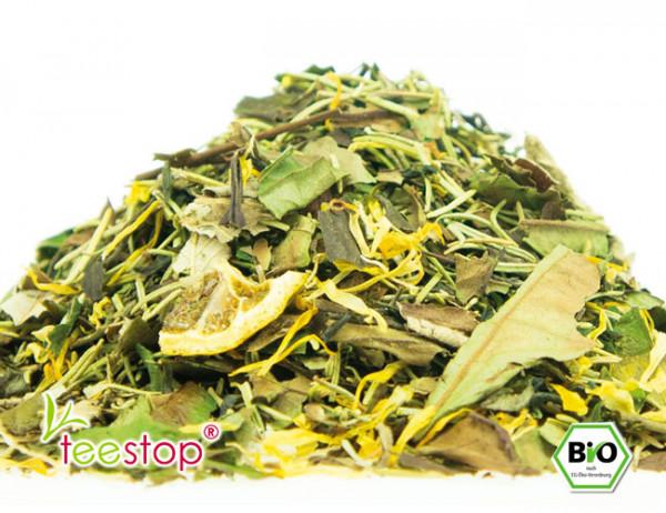 Weißer Bio Tee Zitrone Rosmarin