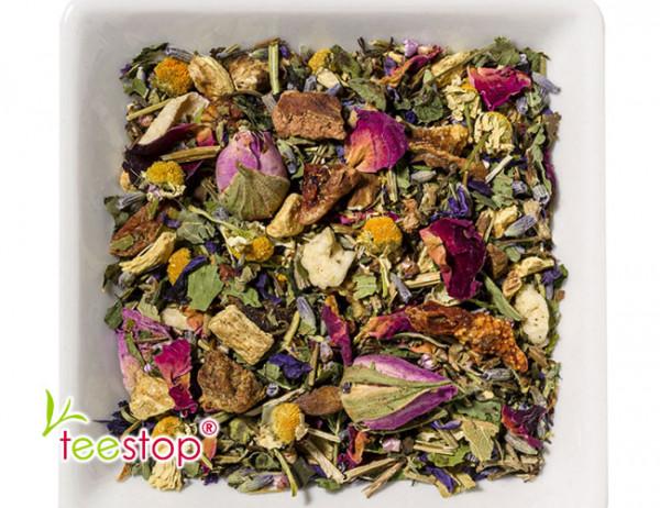 Kräutertee Basentee Blütenkräuter - ohne Aromazusatz