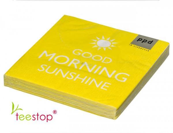 Servietten Good Morning Sunshine ppd