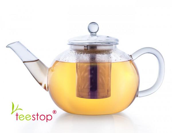 Glas Teekanne mit Filter 1200ml creano