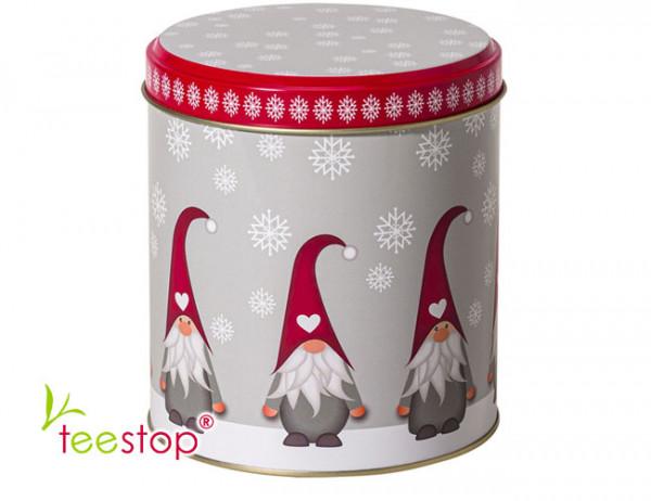Weihnachtsdose Wichtel mit Steckdeckel 150g