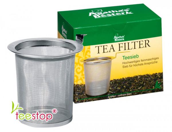 Edelstahl Teesieb für Kannen 6 cm Durchmesser