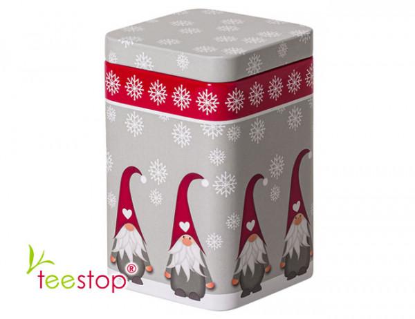 Weihnachtsdose Wichtel mit Steckdeckel 100g