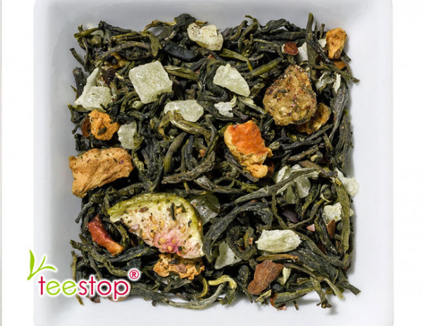 Wintertee Weißer Tee Kokos Makorne