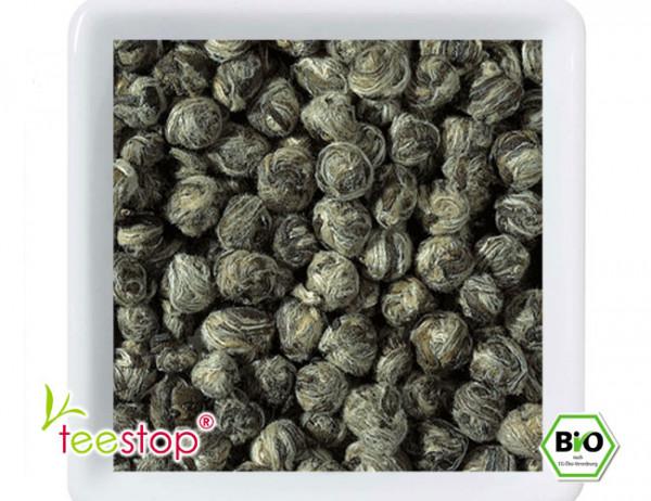 Weißer Tee China Tai Mu Long Zhu aus kontrolliert biologischem Anbau
