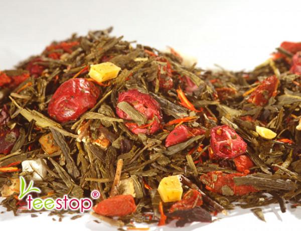Gelber Tee Granatapfel - Cranberry