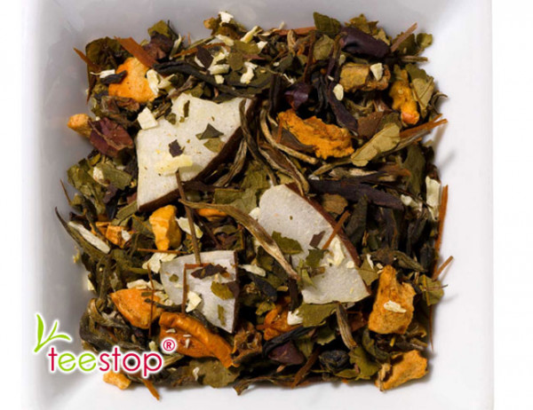 Weißer Tee Kokosnuss Trüffel