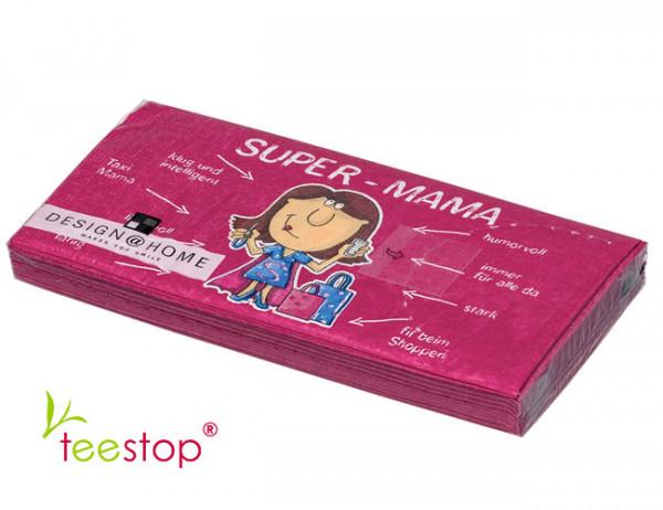 Bistro Servietten Super Mama