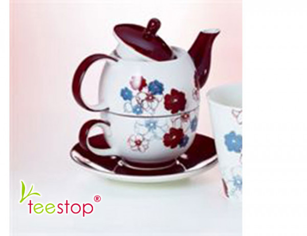 Tea for One Set Eliana aus Keramik von Cha Cult