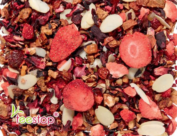 Früchtetee Erdnuss Erdbeer
