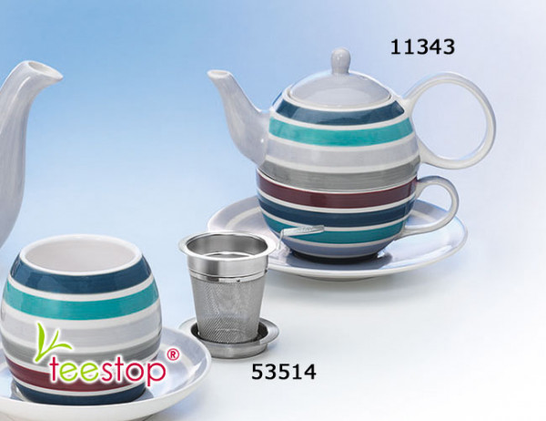 Tea for One Set Jaron aus Keramik von Cha Cult