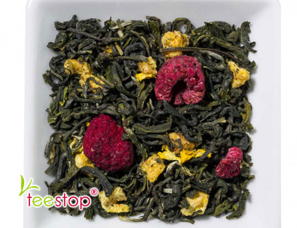 Weißer Tee Himbeer Physalis - einfach lecker