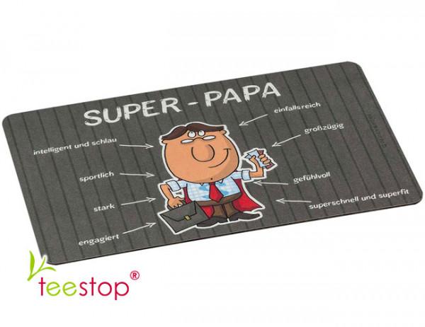 Frühstücksbrettchen Super Papa