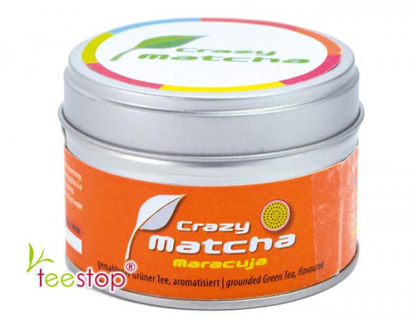 Crazy Matcha Maracuja in 30g Dose - aromatisierter Matcha Tee