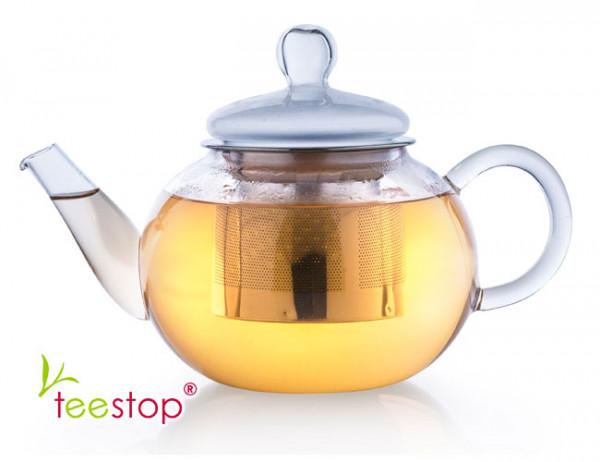 Glas Teekanne mit Filter 0,8l creano