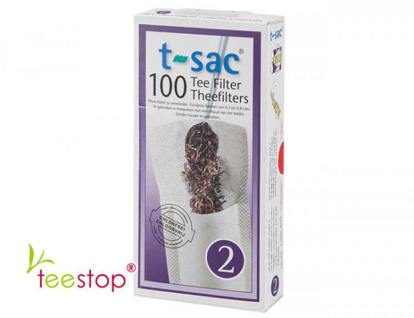 Teefilter Größe 2 - t-sac