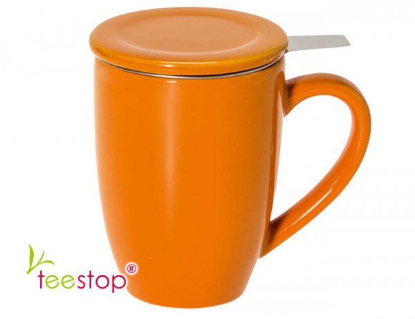 Teesiebbecher Bonnet orange 0,3 L