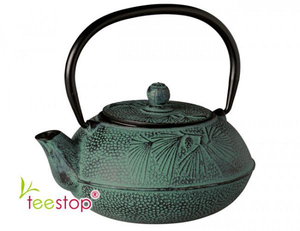 Japanische Tee Kanne aus Gusseisen Peking