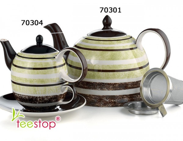 Tea for One Set Amuri aus Keramik von Cha Cult