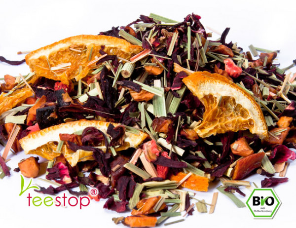 Früchtetee Sonnentee® Erdbeer - Orange