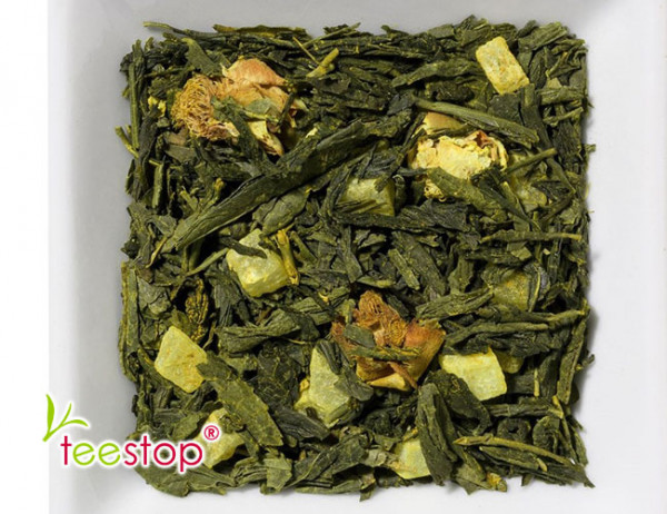 Grüner Tee Sweet Curcuma mit Ananas Kurkuma Note