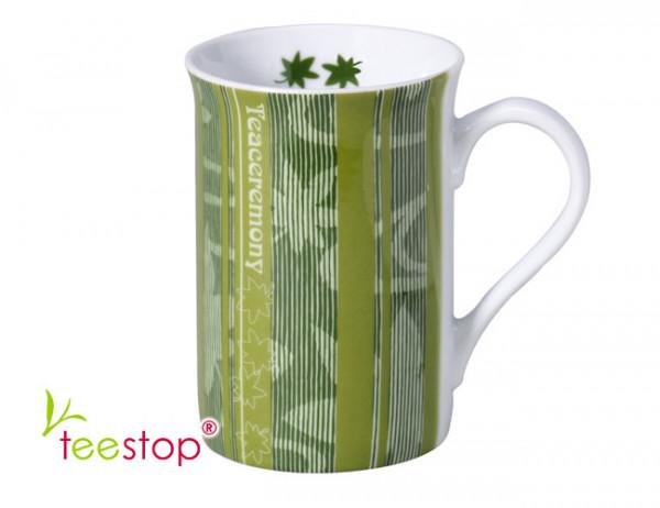 Becher (0,3 Liter) For TEA aus Porzellan mit Reliefdekor