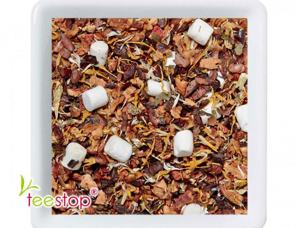 säurearmer Früchtetee Schoko Flöckchen mit Marshmallows