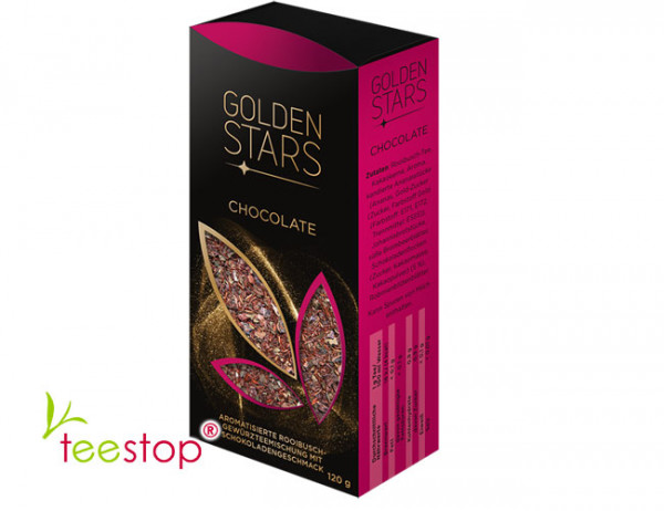Golden Stars Rooibusch Golden Chocolat Faltschachtel